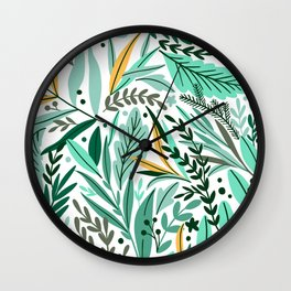 Not Forget Me Wall Clock