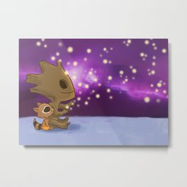 Nighty-night, Rocket! Metal Print