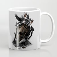 fall Mugs featuring Legends Fall by nicebleed