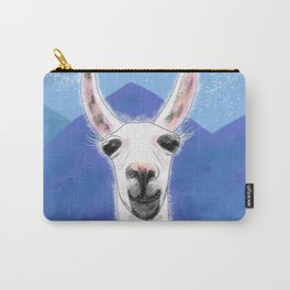 Llama Yama Smiling Carry-All Pouch