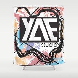 Young Artist Entrepreneur Shower Curtain