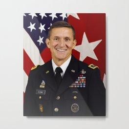 Lt. Gen. Michael T. Flynn Metal Print
