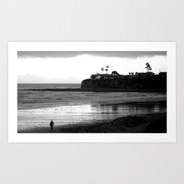 Tourmaline Surf Park Art Print
