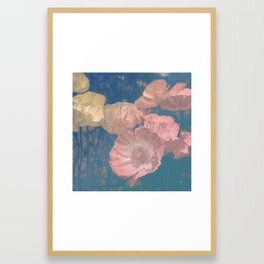Capricious Tulips IV Framed Art Print