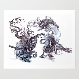 The Witch's Captive Art Print