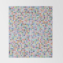 Mod Dots Throw Blanket