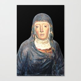 Sorrowful Canvas Print
