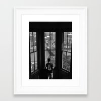 pittsburgh Framed Art Prints featuring Pittsburgh by Mithun Pota