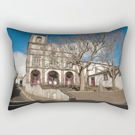 Church in Ponta Delgada Rectangular Pillow