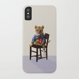 Tiny Tiger Valentine iPhone Case