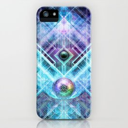 GenesisAlgorithm iPhone Case