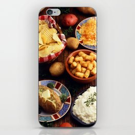 Potato Foods iPhone Skin