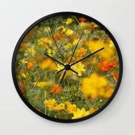 Summer flew by in a blur Wall Clock