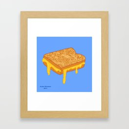 Grilled Cheese Framed Art Print