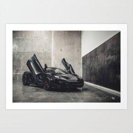 """McLaren MP4-12C """"MWDesign x Brixton"""" Art Print"""