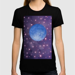 MOON in Universe T-shirt