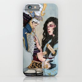 Demons of the past iPhone Case