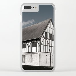 The Hospitium in York museum gardens Clear iPhone Case