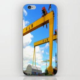 Harland & Wolff Cranes iPhone Skin
