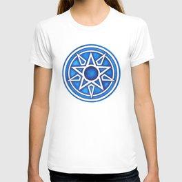Radial Design Blue No. 3 T-shirt