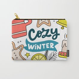 Cozy Winter Carry-All Pouch