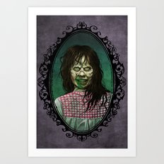 Halloween Heroines: Regan (The Exorcist) Art Print