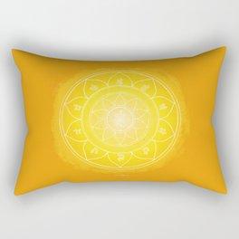 MANIPURA Boho mandala Rectangular Pillow