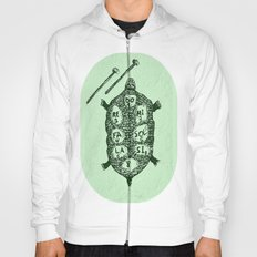 Turtle on Green Hoody