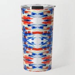 kaleidoscope ethno art smears Travel Mug