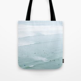 Tiny Surfers from the Sky 5, Lima, Peru Tote Bag
