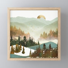 Fall Morning Framed Mini Art Print