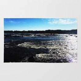 Kukkola river 3 Rug