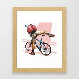 Hot Ride Framed Art Print