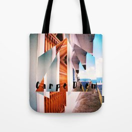Carpe Diem in Puerto Rico Tote Bag