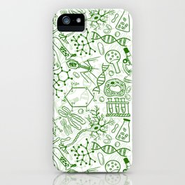School Chemical pattern #1 iPhone Case
