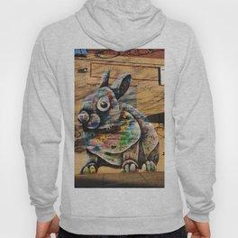 Bunny Rabbit Graffiti Art Hoody