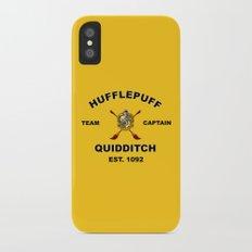 HUFFLEPUFF TEAM Slim Case iPhone X