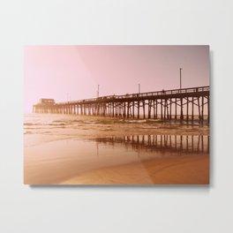 Huntington Pier  Metal Print
