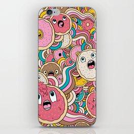 Donut Doodle iPhone Skin