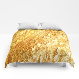 Gold Rush Marble Pattern Comforters