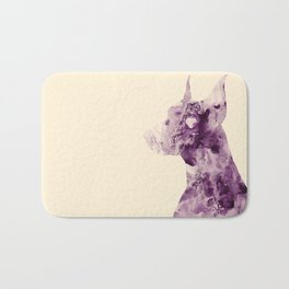 Doberman Sightings Bath Mat