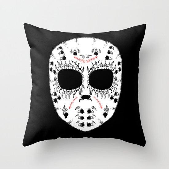 Viernes The 13Th Sugar Skull Throw Pillow