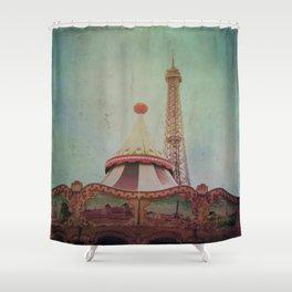 Bohemia of Paris Shower Curtain