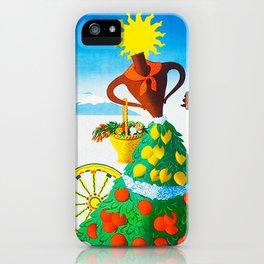 Vintage Sicilia Italia - Sicily Italy Travel iPhone Case