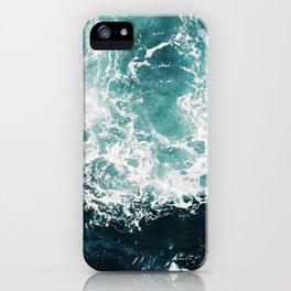 Sea waves II iPhone Case
