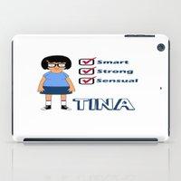 tina crespo iPad Cases featuring TINA- Smart, Strong, Sensual by bvrger-kween