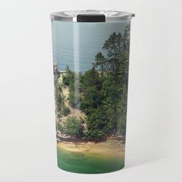Miners Castle rock formation Travel Mug