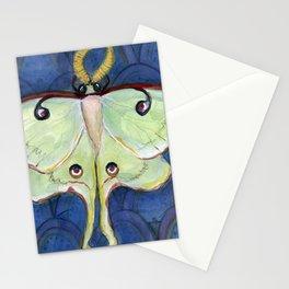 Deco Luna, Art Deco Inspired Luna Moth Stationery Cards