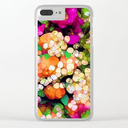 POP-Sparkles Clear iPhone Case