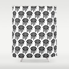 WEEPING Shower Curtain